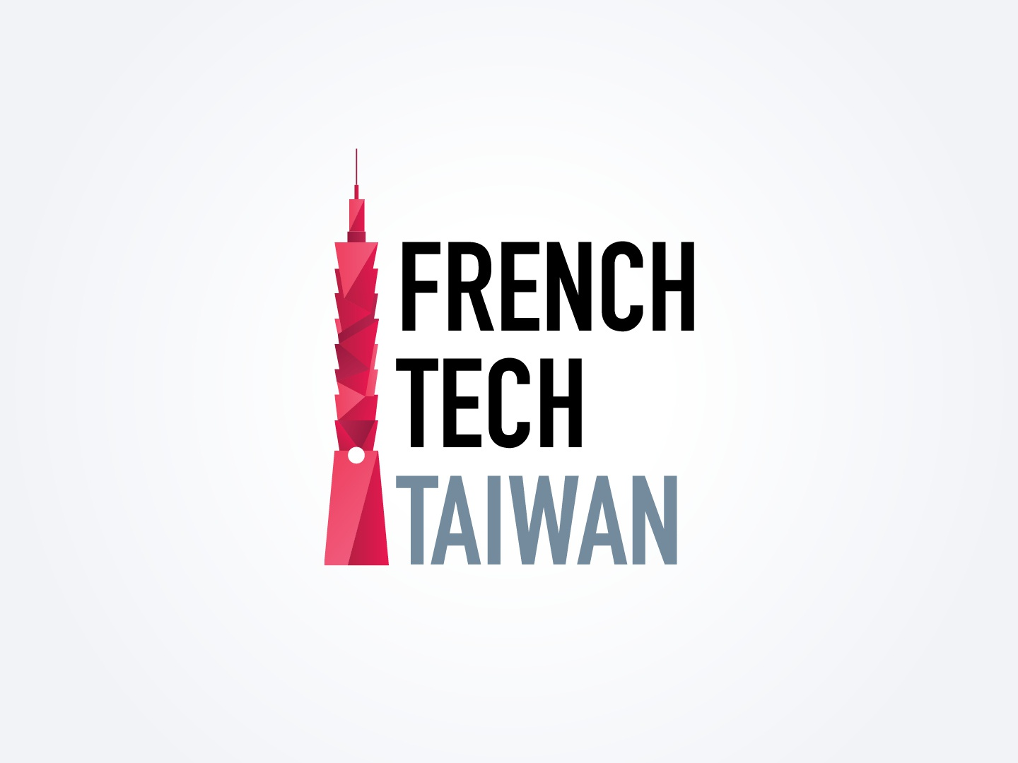 French Tech Taiwan skyscraper french tech taiwan 101 tower taiwan french tech french logodesign logo
