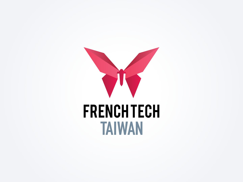 French Tech Taiwan butterfly taiwan french tech taiwan french tech french logo design
