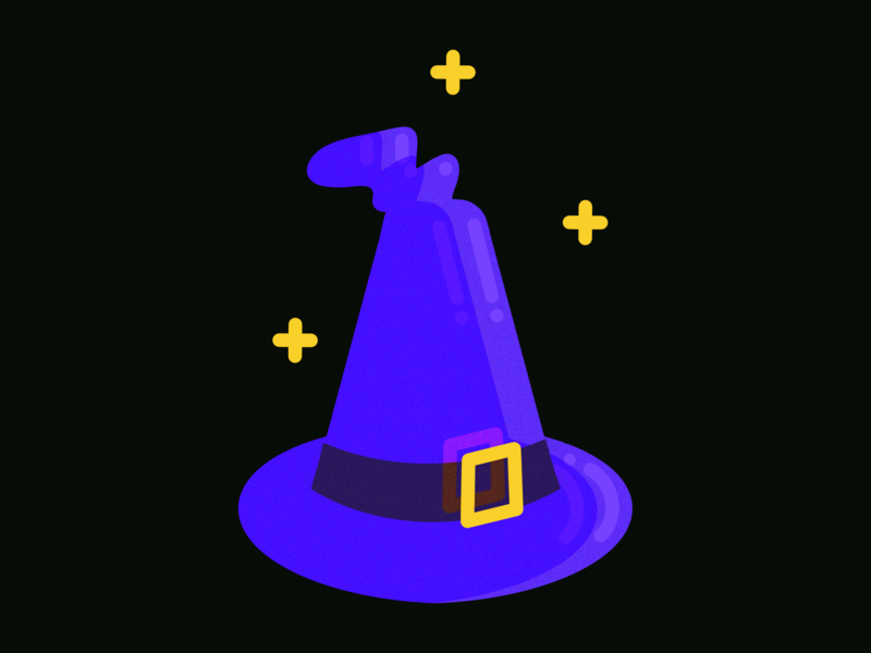 Wizard Hat hats hat precious shiny fantasy magician magical magic wizardry wizard kidlitart vector childrens book doodleaday character design illustration art illustrator drawing design illustration