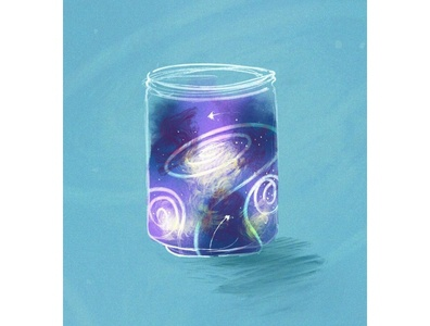Galaxy Jar Sketchtember Prompt
