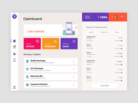 Phonepe Dashboard Concept Design