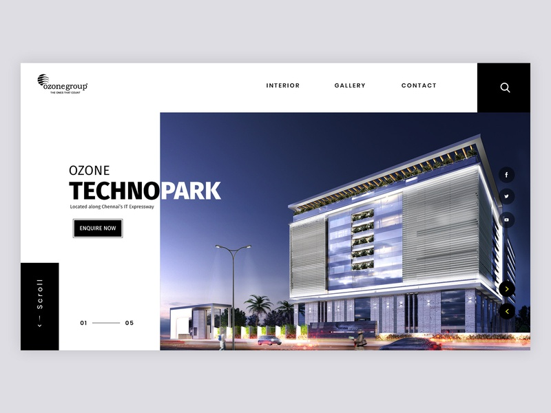 Real Estate Design residential architecture apartment building real estate amenities invitation dribbble ui webdesign ux