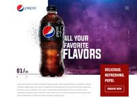 Pepsi Landing Page