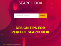 Searchbox Design Tips