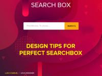Searchbox Design Tips