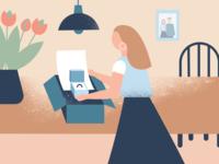 Illustrations For Web Shop
