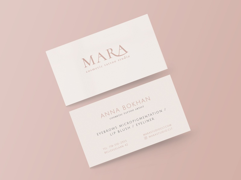 Business card minimalism logo branding corporate identity business card graphic design