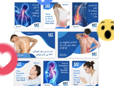 KKT Orthopedic Social Media Marketing