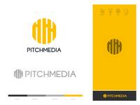 Pitch Media Brand Identity Design
