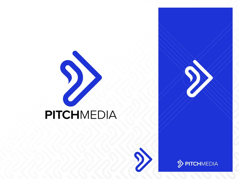 Pitch Media Agency Brand Identity concept design conceptual ying yang play icon icon pitch illustration minimalist typogaphy iconography icon design branding youtube channel graphic design video production storytelling creative agency brand identity agency branding pitch media