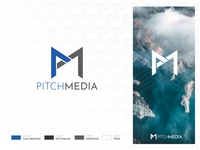 Pitch Media Agency Brand Identity