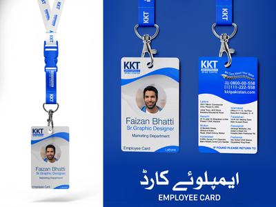 KKT Orthopedic Spine Center Employee Cards