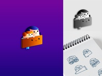 My Storytime Pal 99designs adobe illustrator pictorial logo mascot logo logodesign