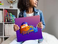 My Storytime Pal 99designs illustration vector adobe illustrator graphic design pictorial logo mascotlogo logodesign