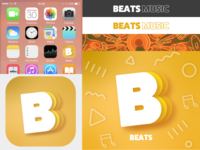 Music streaming logo prompt