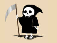Inktober day 19- death