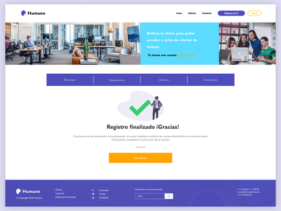 Thanks for your registration! ux ui undraw illustration color platform hr registration register process process register