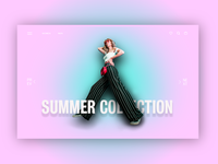 LANDING PAGE - Summer fashion