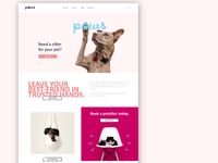 Paws Pet-sitting Co - Landing Page (Part 01)