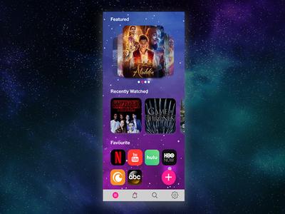 Daily UI #025 / TV App