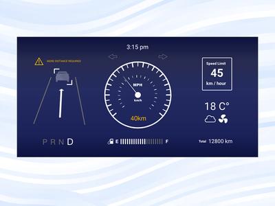 Daily UI #034 / Car Interface