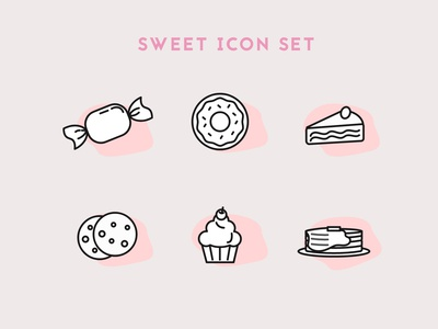 Daily UI #055 / Icon Set