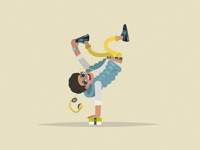 "Mr Bento ""urban dancer"" urban dancer character monbento persona"