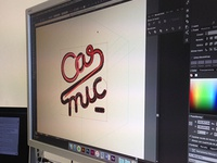 working in a new logo
