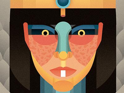 Cleopatra for Rock Paper Books cover portrait egypt rockpaperbooks cleopatra kickstarter crowfounding