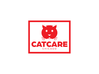 CatCare Chicago windy city cat adobe illustrator graphic design business card letterhead stationary brand identity brand chicago