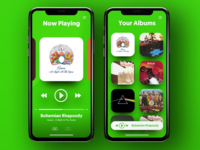 Spotify UI Concept