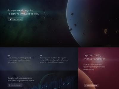 LT homepage scifi space homepage website