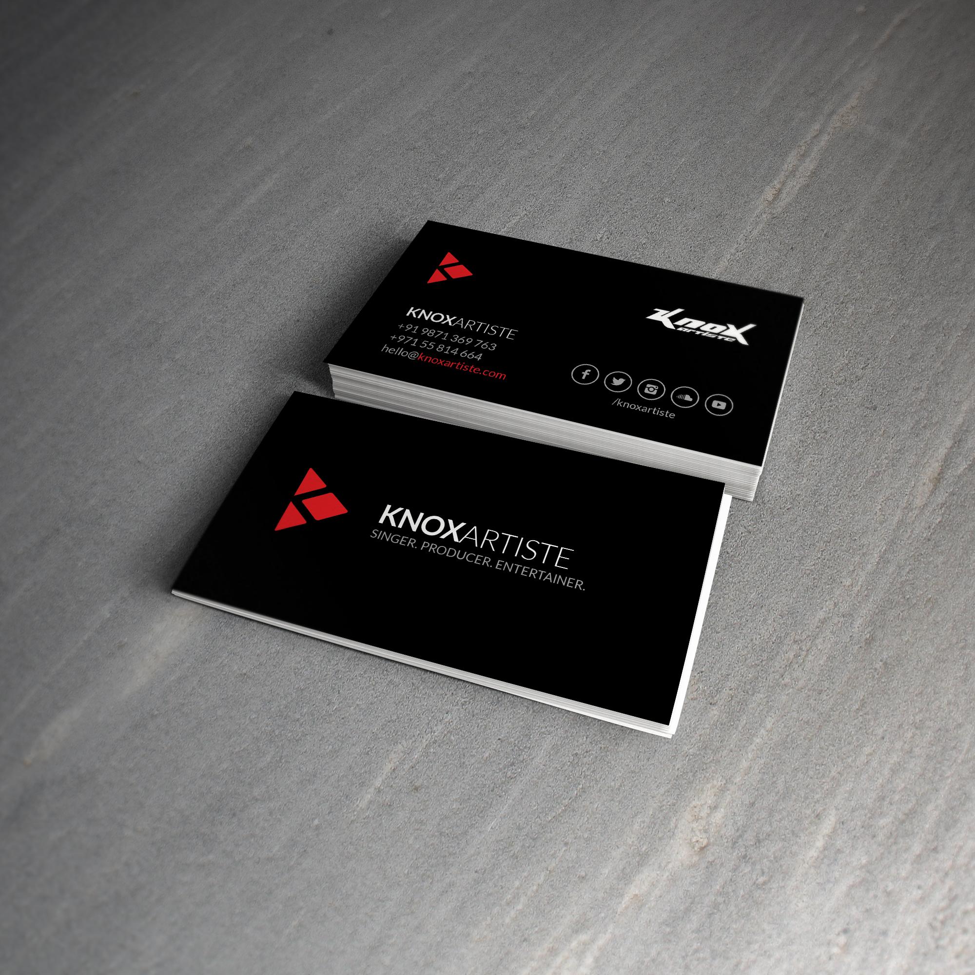 Dribbble knox businesscard shotg by ali attarwala knox business card shot magicingreecefo Images