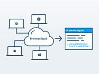 Illustration for BrowserStack Console Logs API