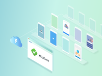 Isometric Illustration - Automated Mobile App Testing
