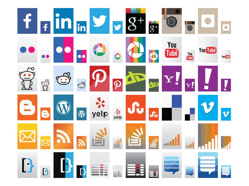 Social Media Icons social media icons
