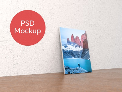 PSD Poster Mockup frame download mockup poster psd