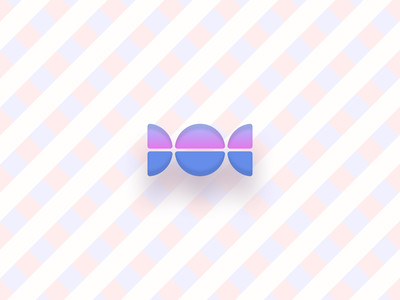 Candy icon candy vector stripes illustration