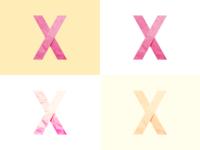 X & Paper texture