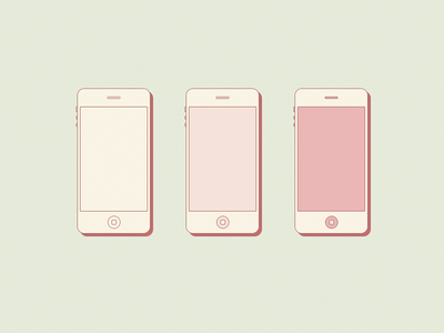 Smartphones pattern icon flat rounded vintage iphone phone wi-fi connect smartphone