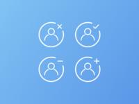 User status icons