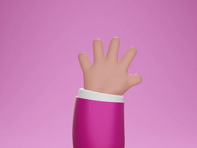 Hello, Dribbble! 3d animation animation illustration illustrator dribbble icon dribbble design blender3dart blender 3d blender art 3d