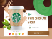 Starbucks Coffee Product Card
