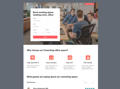 Coworking Place Web