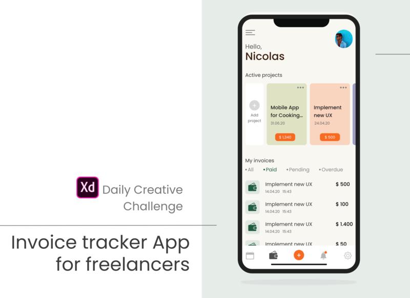 Mobile Application for Freelancers / Invoice tracker