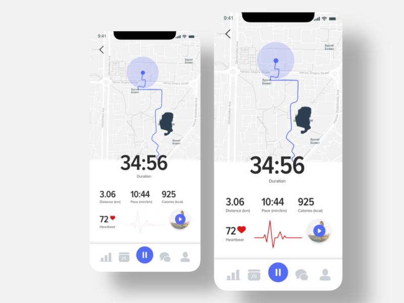Map Tracker App for Runners
