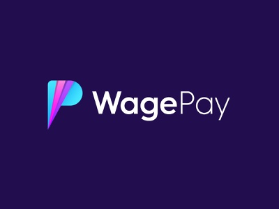 WagePay Logo design and Branding brand identity graphic designer logo design concept mockups logo design branding mobile icon icon design layered logo wp logo p letter w letter logo desugn wagepay
