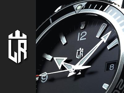 Luxury Retails graphic designer icon design luxury logo design products watch logo online store retails logo luxury logo lr logo