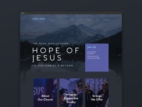 Church Website Mockup