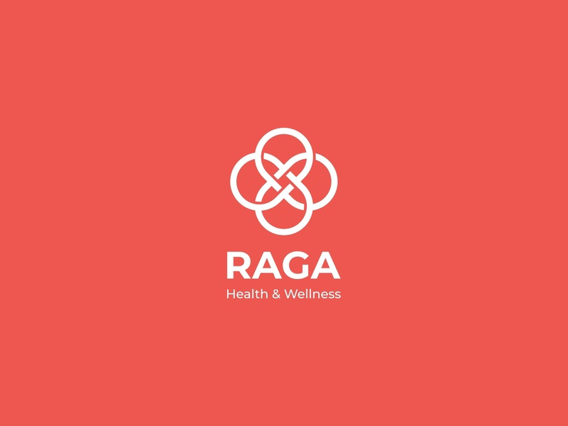 Raga Logo Design logo design design logos typography branding logo